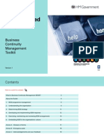 Business Continuity Managment Toolkit