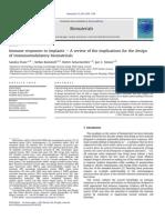 Tema 3 . Inmune Responses to Implants