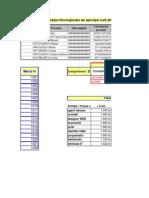 (Ionescu I) Aplicatia7 - Baze de Date Excel (Validarea Datelor)