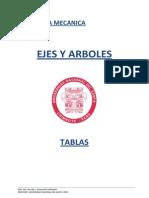 Tablas de Ejes y Arboles 2014