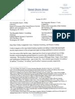 Sen. Mark Warner's Letter to Banking Regulators on Card Security