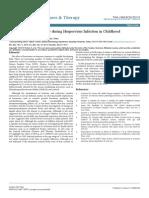 Immune System Behavior During Herpesvirus Infection in Childhood