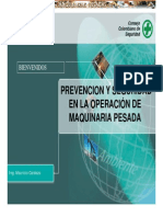 Prevencion y Seguridad en Operacion Maquinaria Pesada