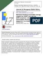 JEPP 2014 National Binding Renewable Energy Targets-libre