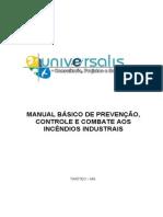 Manual Básico de Prevenção de Controle e Combate a Incendios