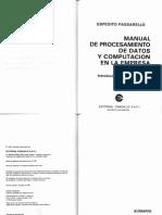 Prof Passarello PARTE 1 Libro de Procesamiento de Datos