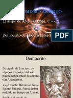 13 Atomismo antiguo