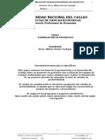 Fore06-AG-Estructura de Pre Factibilidad