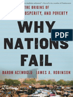 Why Nations Fail Daron Acemoglu