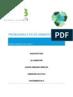 Problemas Eticos Ambientales