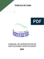 Acreditacion Hospitales Cubanos