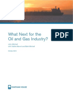 Chatham House Report - What Next for the Oil and Gas Industry