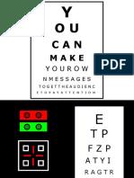 optician chart