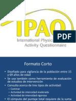 IPAQ Formato Corto