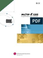 Manual MasterK120S