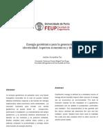Centrales Geotermicas Electricas