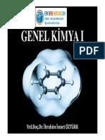 Genel Kimya - Namık Kemal Üniversitesi Ders Notları