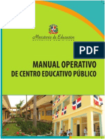 Manual Operativo de Centro Educativo Público 18-03-2014