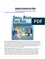 Small Basic for Kids _Computer Science for Kids