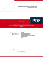 Crítica de La Razón Distópica. Homenaje a La Imaginación Utópica de Martin Diskin y Guillermo Bonf