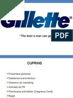 Gilette Programare eveniment