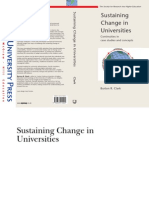 [Burton R. Clark] Sustaining Change in Universitie