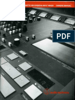 Audio Tehnica RMX64 Owners Manual