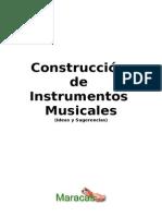 Construccion de Instrumentos Musicales