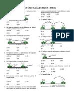 Practica Calificada de Fisica2014 Mruv