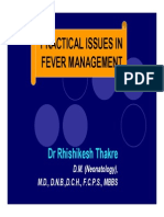 Fever Management Practical Issues