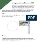 Cómo Hacer Diseños Punteados en Illustrator CS3