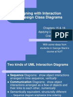 Interaction and design class diagrams
