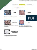 Minerales - Rocas Sedimenta..