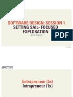 Software Design Class (Session 1)