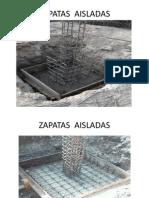 Tipos de Zapatas