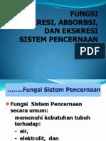 Kuliah Fungsi Sekresi Absorpsi Dan Ekskresi Sp