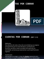 Cuentas Por Cobrar (NIF C-3)