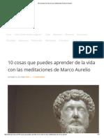 10 Lecciones de Vida Con Las Meditaciones de Marco Aurelio
