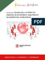Guia de Introduccion a La Web 20 Aspectos de Privacidad y Seguridad en Las Plataformas Colaborativas