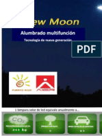 New Moon Alumbrado Multifuncion Solar de LED