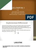 Kelompok 1 Kalkulus Differensial(m0513001,m0513017,m0513033)