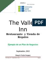3Business Plan Example Spanish