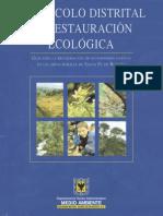 Protocolo Distrital Restauracion Ecologica