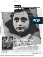 remembering anne frank article