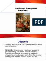 spanish  portuguese colonies