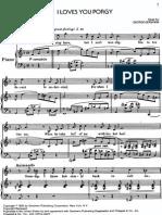 562 - George Gershwin - I Loves You Porgy
