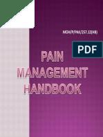 Pain Management Handbook Compile