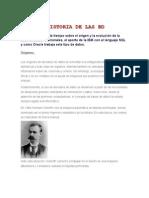 Historia de Las Bd