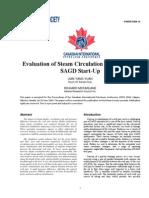 Evaluation of SteaEvaluation of Steam Circulation Strategies for SAGD Startupm Circulation Strategies for SAGD Startup