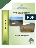 1 Estudio Hidrológico Cuenca Río Ilave 2009 - Texto